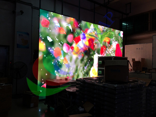 Light Weight  Indoor Rental LED Display Pitch 5mm Wide Viewing Angle SMD3528