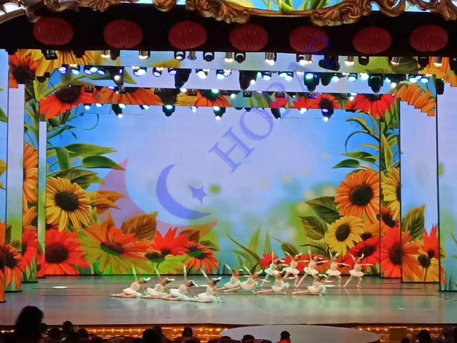 High Definition 2.84mm Indoor Rental LED Display Die - Cast Aluminum For Stage Screen