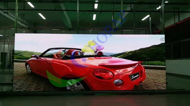 Full Color PH 2.84mm Led Advertising Screen , Ultra Thin Led Screen Panels