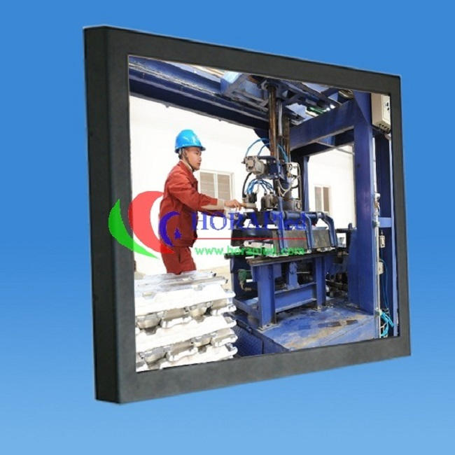 Industrial 10.4 Inch High Brightness LCD Monitor Energy Saving With Powder Coated Aluminum