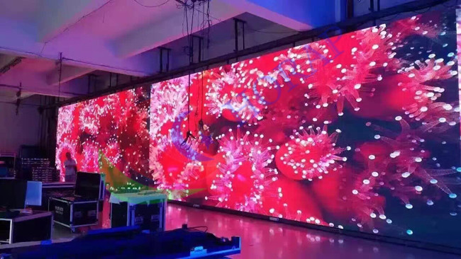 P4.81 Outdoor Rental LED Display  Die - Casting Aluminum Stage Front Service SMD 2727