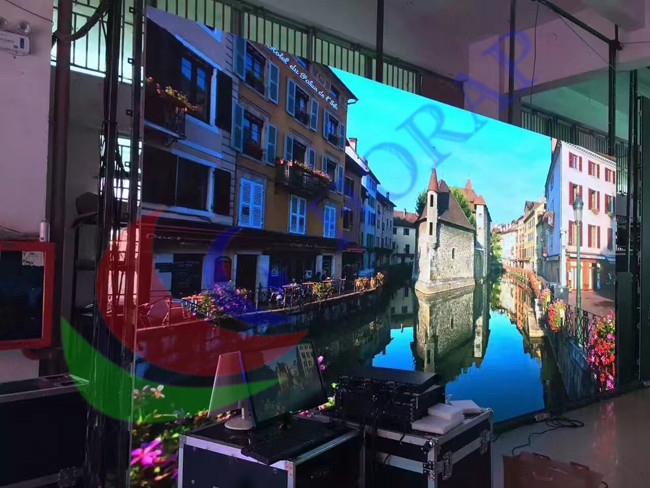 SMD P4 P5 P6 P8 P10 HD LED Display Stage Front Service For Commercial Advertising