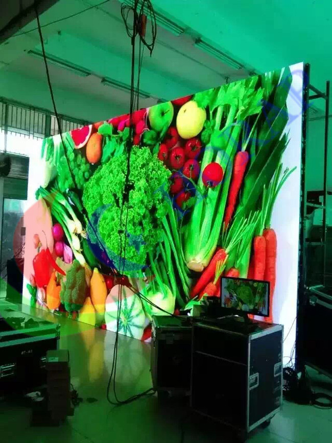 Light Weight Led Screen Panels , Super Slim P2.9 P3.9 P4.8 P5.2 Outdoor Led Screen