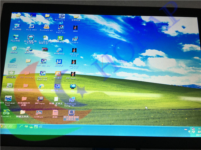 Widescreen 12.1 Inch Custom LCD Monitor High Bright With Cross On Screen