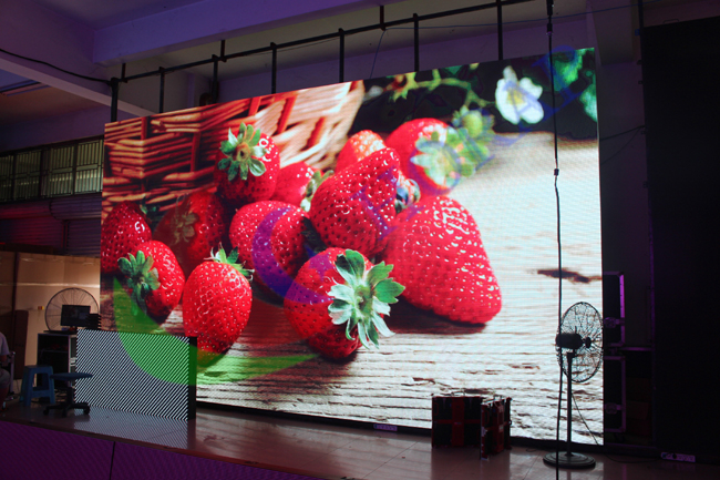 Light Weight Led Advertising Display Board , Wide Viewing Angle Large Led Display Panels