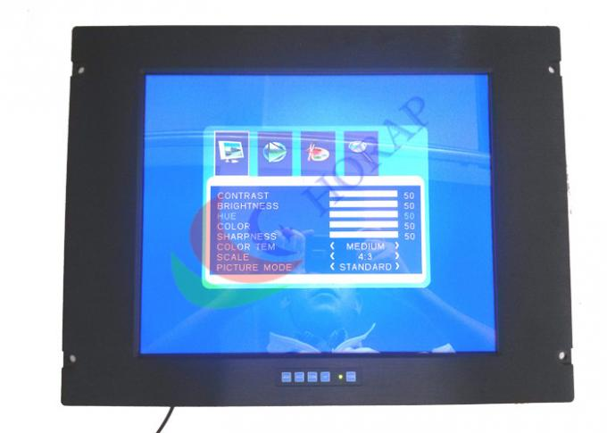 Touch Screen Lcd Monitor 15 Inch , Sunlight Readable Lcd 1024 * 768 Resolution