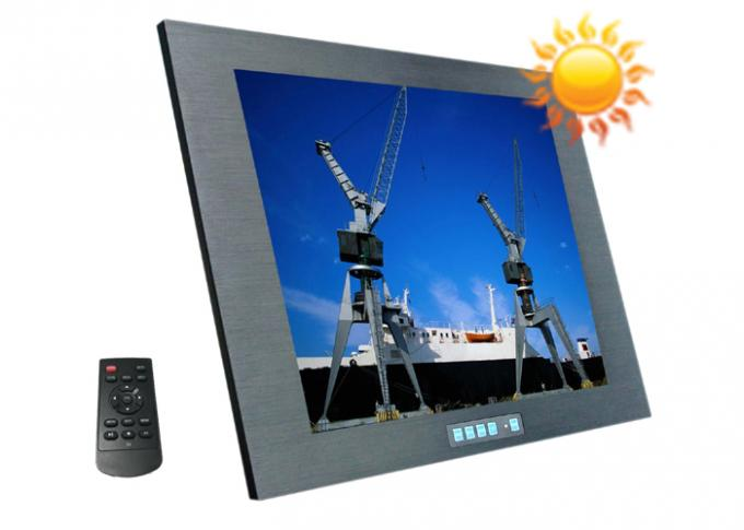 Sunlight Readble Marine LCD Monitor High Bright 10.4 Inch For Boat Naval Ship