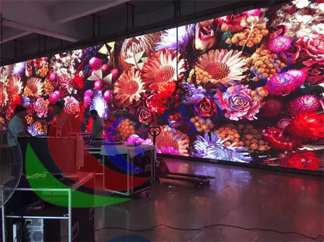 6.25Mm Exterior Electronic led panel rental / Full Color Electronic led rental display Signs