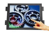 Panel Mount 17 inch Industrial LCD Monitor Metal Frame Touch Screen for Digital Signage