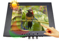 China Touch Screen 8.4 Inch High Brightness LCD Monitor 1000 Nits With Rugged Housing factory