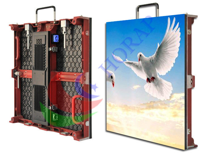 HD P3 P4 P5 P6 Advertising Led Display Screen , Floor Standing Led Stage Backdrop Screen