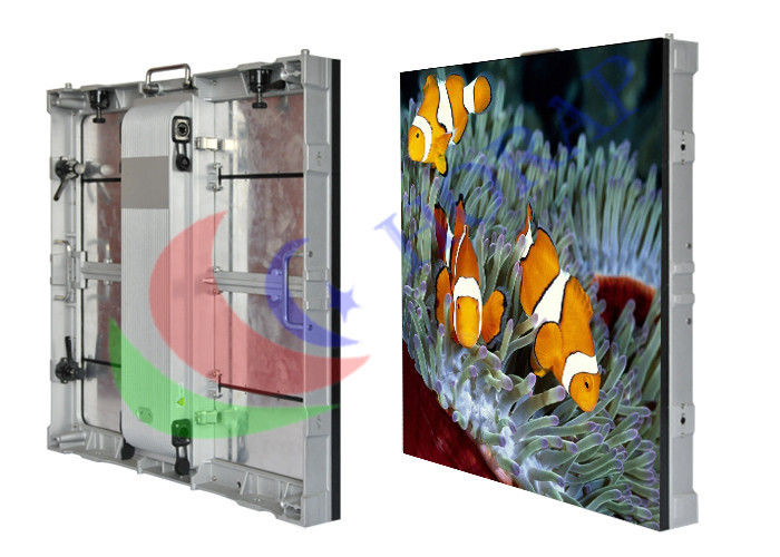 P2.9 P3.9 P4.8 P5.2 Outdoor Rental LED Display SMD 2727 Die - Cast Aluminum 640 X 640mm