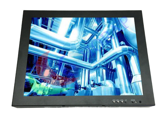 Light Weight 10.4 Inch Industrial Computer Monitor , Panel Mount Touch Screen 400 Nits