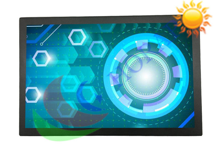 Widescreen 12.1 Inch Sunlight Viewable Monitor , Sunlight Readable LCD Display