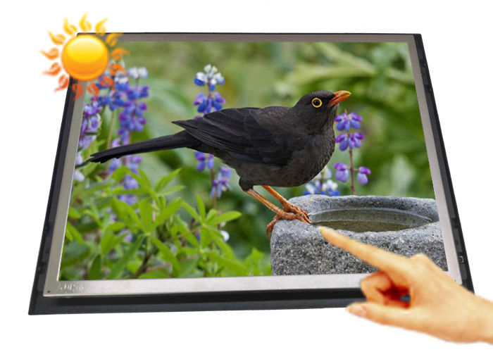 Open Frame High Brightness LCD Monitor 15 Inch Energy Saving For Product Exhibition