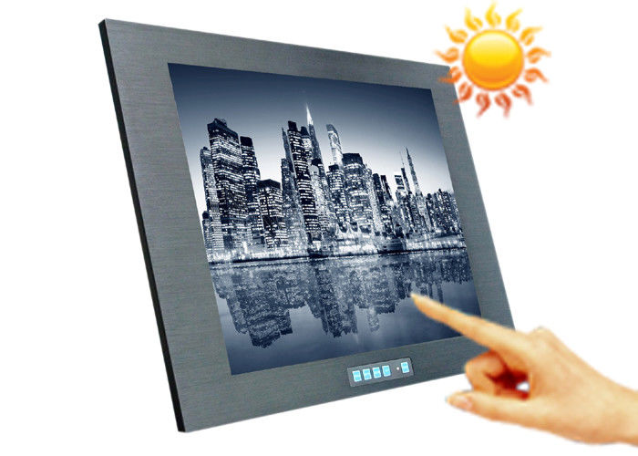 Touchscreen 12.1 Inch Wireless Lcd Monitor , Video Digital Lcd Display Screen