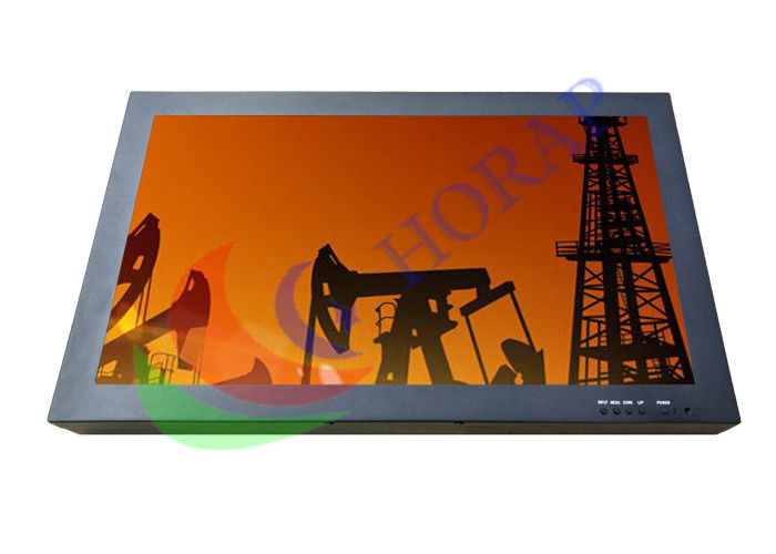 Rugged Metal Shell 17 Inch Hd Cctv Monitor , Industrial Panel Pc Touch Screen