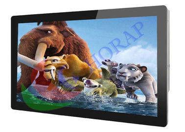 FHD 55 Inch Wall Mount LCD Advertising Player  WIFi  /  3G Android 1920 * 1080 Resolution
