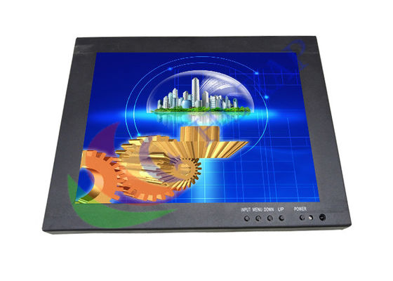 10.4 Inch Industrial LCD Monitor High Definition For Supermarket Advertising