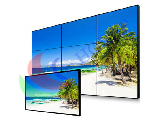 China 3.5mm Open Frame Narrow Bezel LCD Video Wall Full HD 55 Inch 3 X 3 1920 * 1080 factory