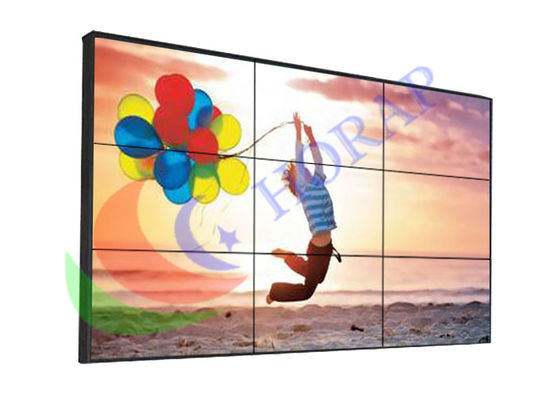 China Waterproof High Brightness Video Wall Solutions , Open Frame Embedded Seamless Monitor Wall factory