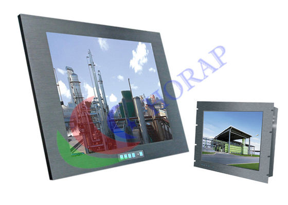 10.4 Inch Marine LCD Monitor Open Frame Embedded Waterproof  For Security