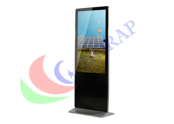 Floor Stand Network 42 Inch Digital Signage Solutions , Smart Digital Advertising Screen