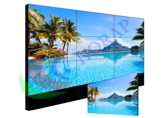 China Seamless Video Wall  For Indoor Advertising , Touch Screen Lcd Video Wall Display factory