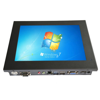 Pure Flat 15.6 INCH Industrial Touch Screen Monitor , High Resolution Rugged Panel Pc