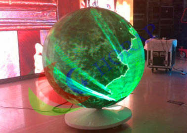 Sphere Led Video Panels Diameter 1500mm , Global LED Video Ball For Event