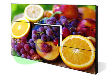 China 3.5mm 46 Inch 3 X 3 Narrow Bezel LCD Video Wall 1920 * 1080 Resolution For Shopping Malls factory