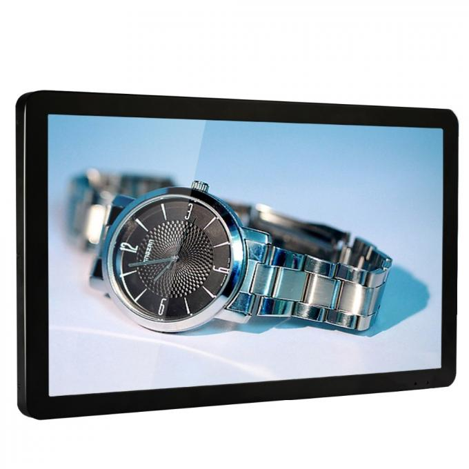 1920 * 1080 Full HD 22 Inch LCD Advertising Player Open Frame Thin Flat Screen